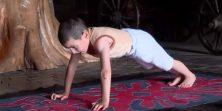 Šestogodišnjak osvojio stan za roditelje nakon 3270 sklekova - naravno da je mali Rus