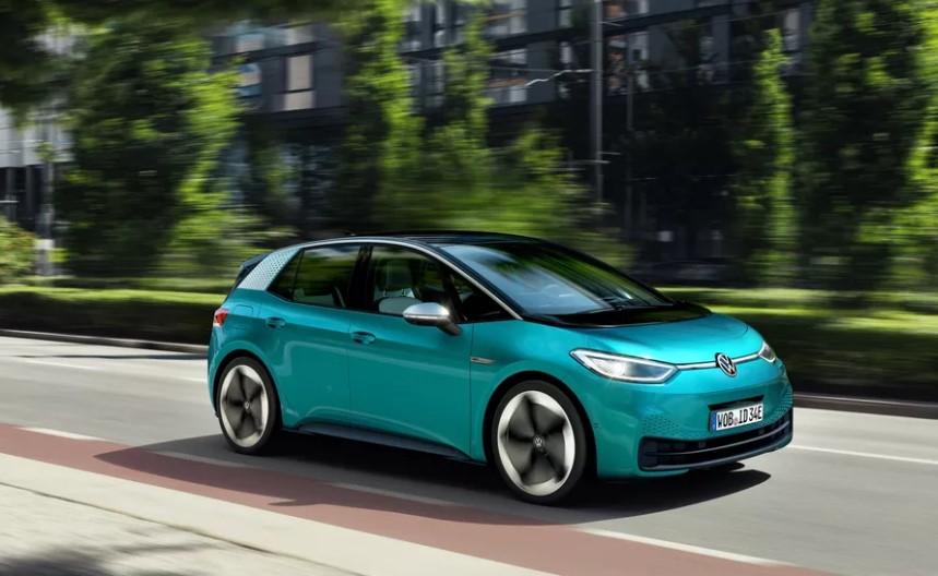 volskwagen id3 električni automobili