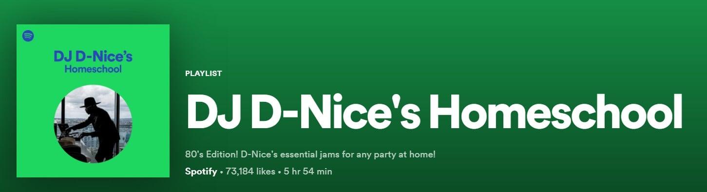 DJ D NICE