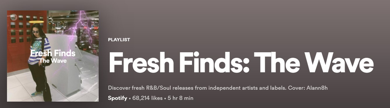 spotify fresh finds