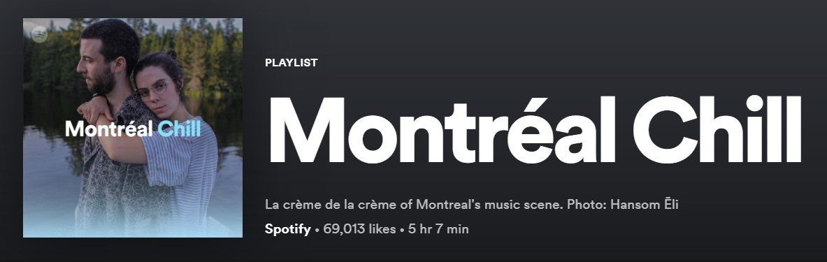 spotify montreal