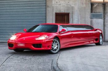 Ferrari limuzina izgleda kao da je glitch u stvarnosti, na prodaju