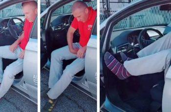 Zagrebački instruktor vožnje pokazao kako se kod njega uči upravljati i nogama