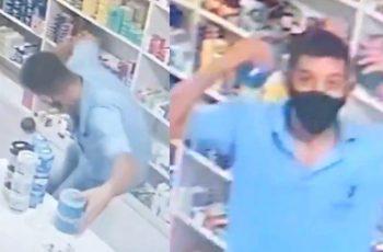 Prodavaču ispala teglica, pretvorio se u Ronaldinha - sve su zabilježile nadzorne kamere