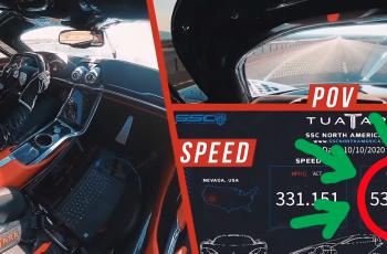 VIDEO Vozi preko 530 km/h - Ovo je najbrži auto na svijetu