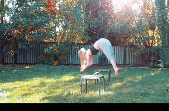 Cilj života sedamnaestogodišnje Kanađanke je - skakati kao konj, doslovno