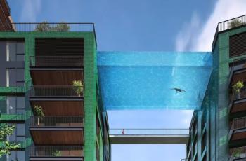 VIDEO Bazen od kojeg bi nam se stisao - unatoč toploj vodi