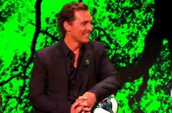 Matthew McConaughey zbog žene iz Brazila obnovio strast prema nogometu. Eskaliralo je brzo, uložio je u nogometni klub!
