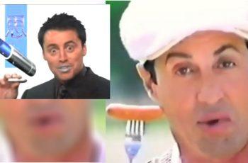 Sjećaš se Joeyjeve japanske reklame za ruž za usne? Čini nam se da su inspiraciju dobili od Stallonea!