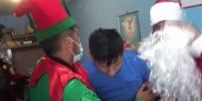 Djed Božićnjak koji ne uzima mlijeko i kolačiće nego travu i kokain