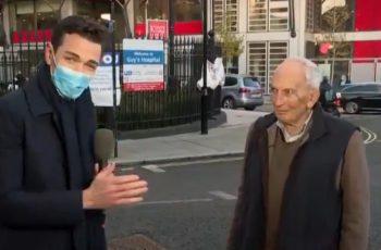 """91-godišnjak u intervjuu za CNN nakon cjepiva rekao """"zašto sada umrijeti?"""" i postao viralni hit"""
