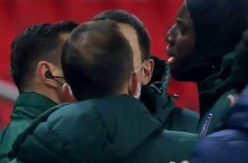 NEVIĐENE SCENE: Prekinuta utakmica Lige prvaka, a ovo je trenutak kad je sve eskaliralo - VIDEO