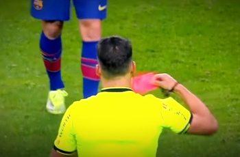 Bijesni Messi - zbog šamaranja protivnika dobio prvi crveni u klupskoj karijeri