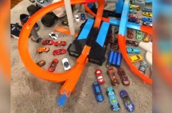 VIDEO Nakon što ovo vidite, nećete se više nikada igrati s autićima, bar ne bez zaštitne opreme