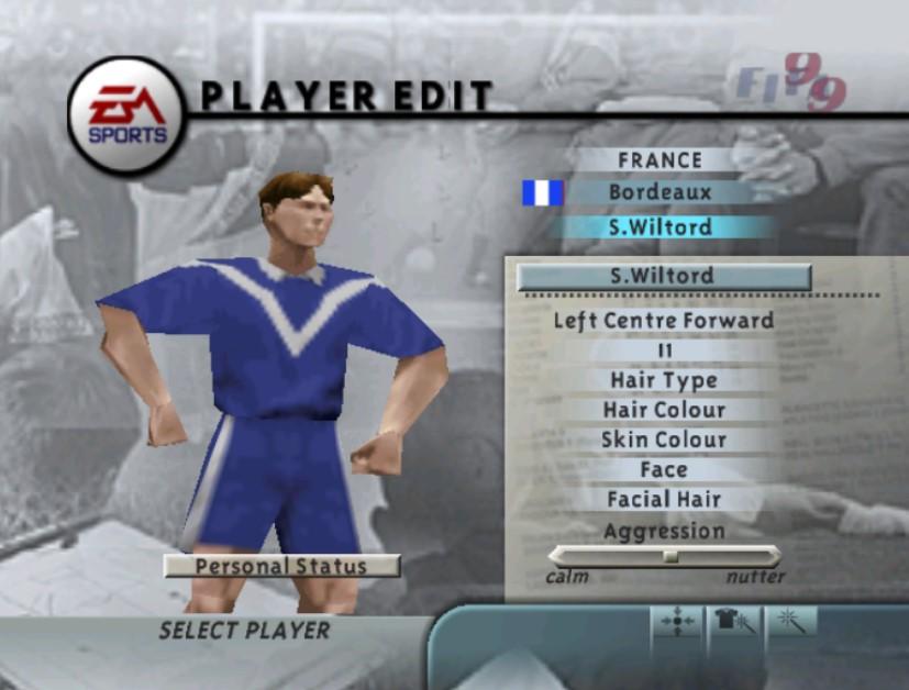 Sylvain Wiltord u FIFA 99