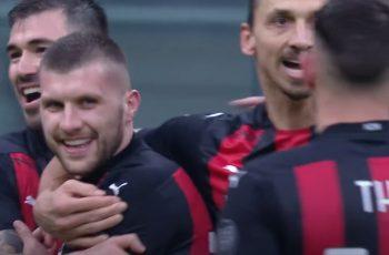 Ibrahimoviću 500. gol u klupskoj karijeri, a Rebiću dva gola u 60 sekundi u visokoj pobjedi Milana