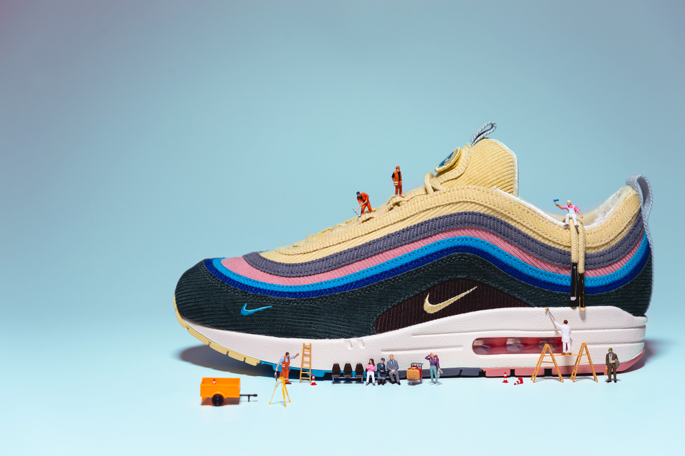 Air Max Wotherspoonice - spojile 97ice, jedinice i samt