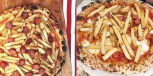 Ako imaš problema s ananasom na pizzi, što tek misliš o ovoj s hot dogom i krumpirićima?