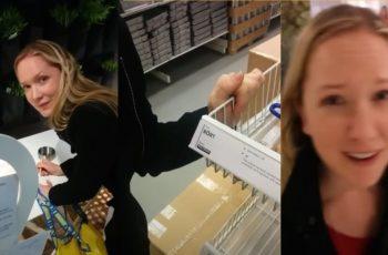 VIRALNO: Dečko pretjerao s forama u IKEA-i, djevojka ga molila da prestane