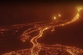 Vulkan eruptirao kao Mordor - dron zabilježio sve, a snimatelj oduševio izjavom!
