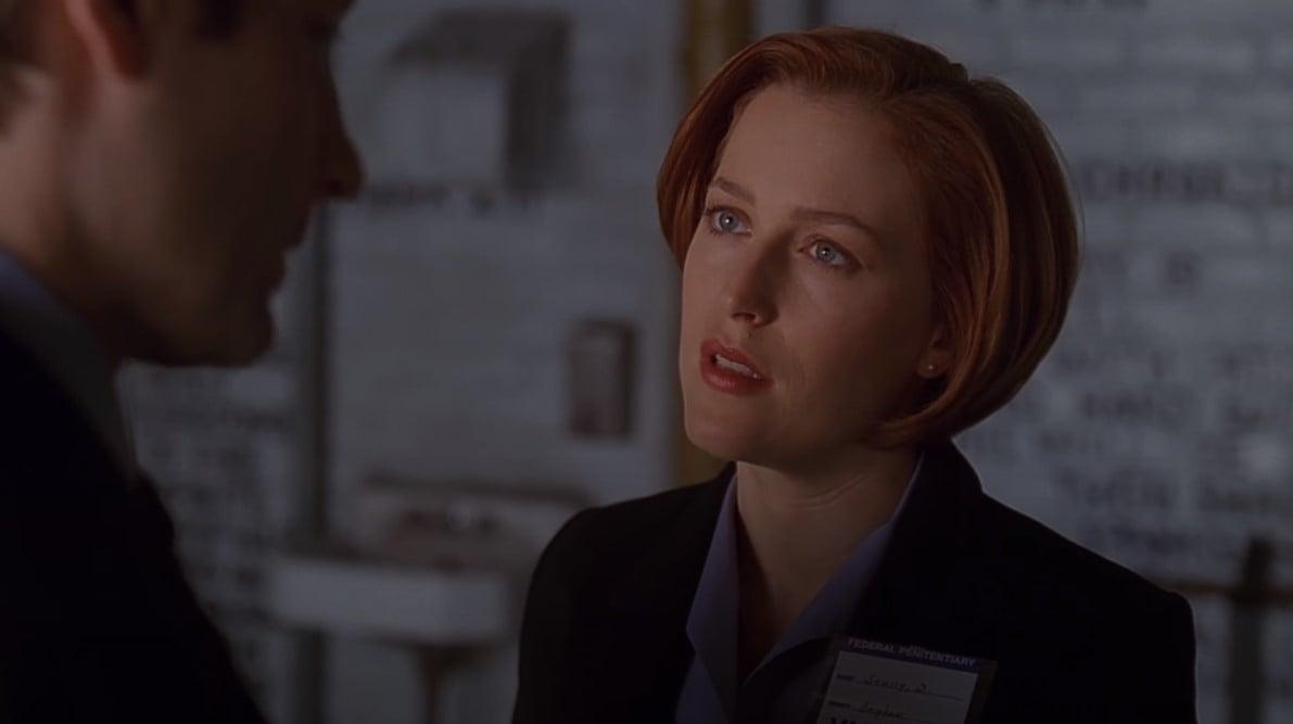 Dana Scully crvenokosa genijalka
