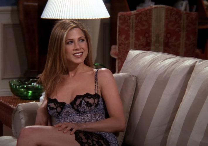 Rachel u onoj epizodi s haljinom. Valjd. Mi smo Seinfeld ekipa