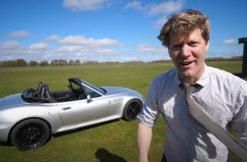 Ludi znanstvenik napravio pravi auto Jamesa Bonda sa svim ludim gadgetima: da, i bacačem plamena