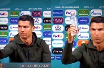 Cristiano Ronaldo maknuo Coca-Colu ispred sebe, dionice pale za 4 milijarde dolara