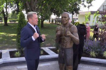 Sjećate se biste C. Ronalda? Sad je Georges St-Pierre dobio skulpturu - i izgleda kao Barack Obama
