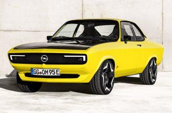Opel Manta se vraća - ovaj put u futurističkom električnom obliku