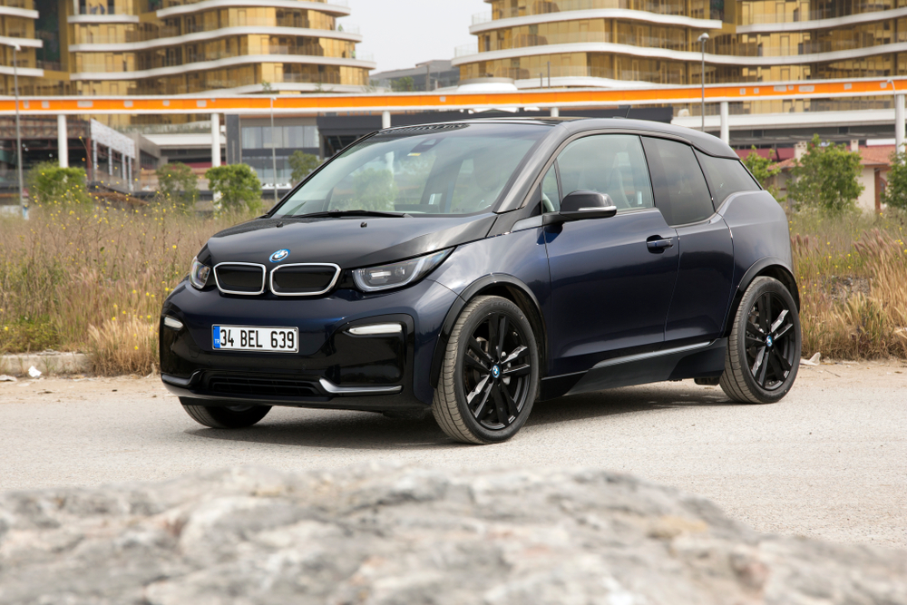 Istanbul,-,02,May,2018:,Bmw,I3,Is,A,B-class,