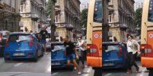 VIDEO Urnebes u Rijeci! Mladić vrijeđao vozačicu pa jedva izvukao živu glavu