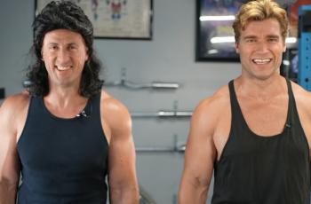 Jesu li ovo stvarno Schwarzenegger i Stallone? Otkrili kako su slavni glumci došli u formu, pogledajte!