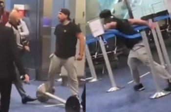 VIDEO Drama na aerodromu: lik razbijao i urlao na zaposlenike