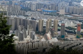 Impresivno i šokantno! Srušili 15 nebodera za 45 sekundi - pogledajte!