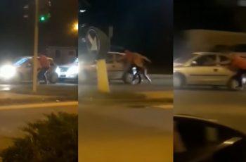 Uznemirujuća snimka! Nagovarao pijanog prijatelja da ne vozi pa umalo završio tragično