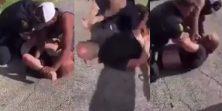 VIDEO Policajac pokušao uhititi tipa pa se upleo i ovaj MMA borac - kakva drama!