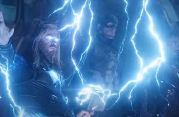 Kakav tajming - došla u Disneyland kao debeli Thor, pozdravile ju munje i gromovi