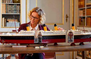 Lego ima novi najveći model, predstavili Titanic od 9090 komada